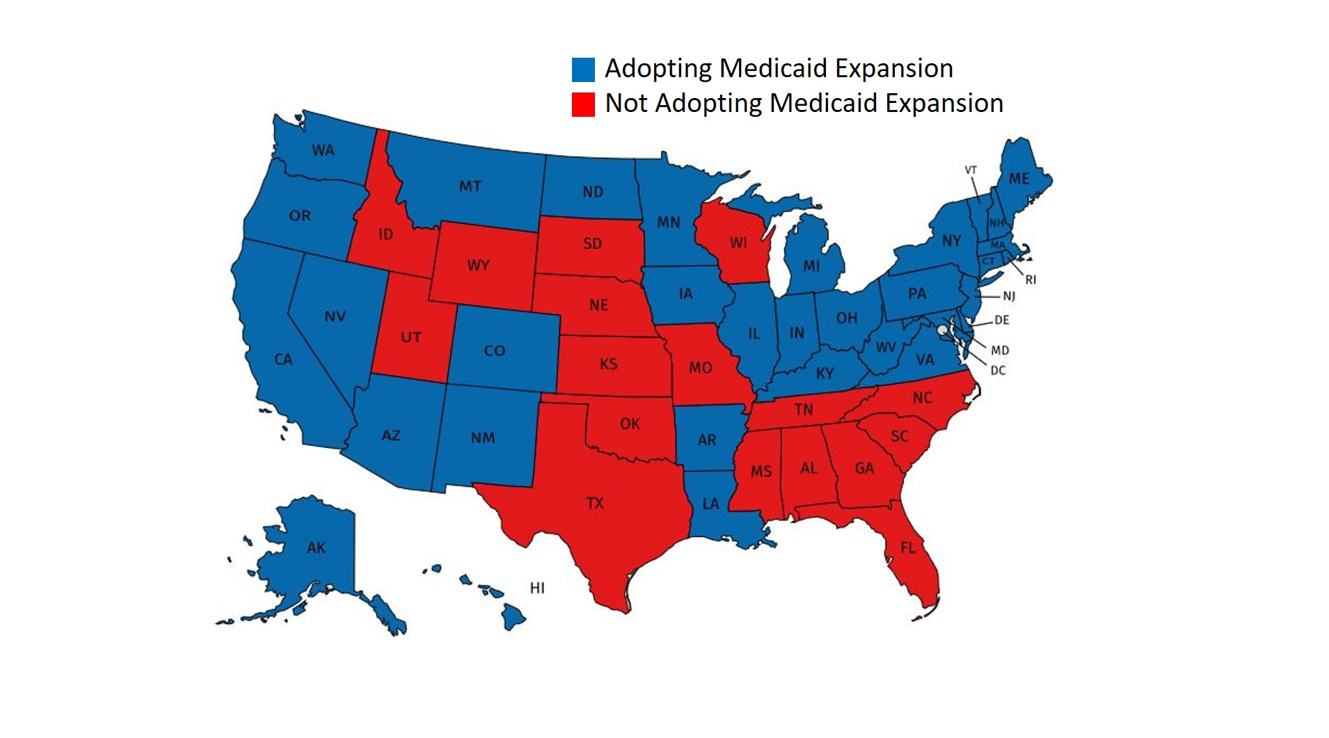 What Medicaid Expansion Tells Us About America's Health | The ... on